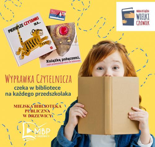 Bezpłatna Wyprawka Czytelnicza dla każdego przedszkolaka.